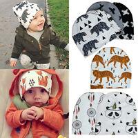 FE- Lovely Toddler Kids Girl&Boy Baby Infant Winter Crochet Knit Hat Beanie Cap