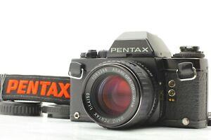 DHL [N.MINT] PENTAX LX Camera early model Black + SMCP 50mm f1.4 Lens from JAPAN