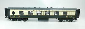 BI664-2# Fulgurex Spur 0/DC Blech-Personenwagen Pullman No 57 Federpuffer