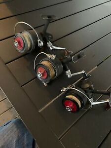 Lot 3 Vintage DAM Quick Spinning Reels