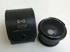 Opteka Semi Fisheye 0.35x Macro Lens Camera Lens HD2 with Case 58mm
