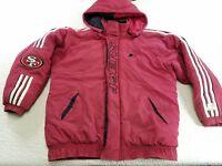 Proline Starter NFL San Francisco 49ers Mens Vtg Puffer Jacket Coat sz L