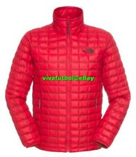 NEW The North Face Mens ThermoBall Insulated Full-Zip Jacket TNF Red XL