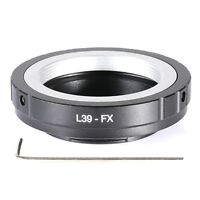 Adapter for Leica M39-FX L39 Lens to Fuji X-mount Fujifilm X-PRO1 FX Cameras