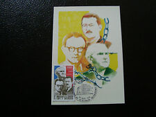 FRANCE - carte 1er jour 27/9/1975 (liberation des camps) (CY17) french