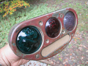 BRASS ERA VINTAGE ANTIQUE BEACON STANDARD TAIL LIGHT Packard Cadillac Cord Linco