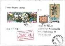 ITALIA REPUBBLICA: 1500 SEGNATASSE su  BUSTA USATO come francobollo normale 1992