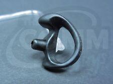 Right Small Black Open Ear Insert > Molded Earpiece Police Earbud Earmold Style