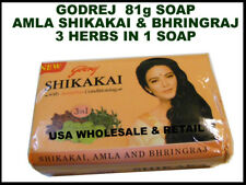 12 Godrej Amla Shikakai Bhringraj Soap Stops Hair Loss Grows Hair 3in1 Herbs