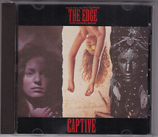 The Edge - Captive - Soundtrack - CD (CAROL 1892-2 1986 Virgin U.S.AThe Edge U2)