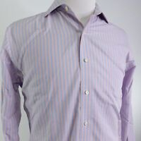 BROOKS BROTHERS NON IRON REGENT L/S STRIPED BUTTON DOWN DRESS SHIRT 16 4/5