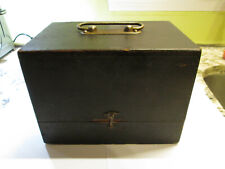 In Wood Box, Complete Vintage Watchmaker Tool Staking Set