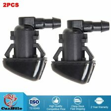 2X Super Duty Windshield Washer Jet Nozzle Sprayer Pair Set For Ford F250 F350