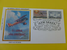 Airmail Service Fdc 2018 Combo Stamp Sc#5281 (100th Anniv.) Colorano (Type #5)