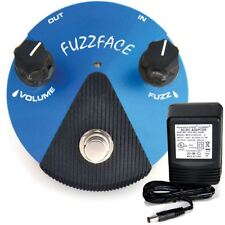 Dunlop FFM1 Silicon Fuzz Face Mini pedal w/ 9v power supply