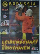 Programm 2003/04 Borussia Dortmund - Bayern München