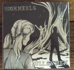 """HIGH HEELS Full On Hex 7"""" NEW garage-punk Mr. Suit Records Shitty Friends"""