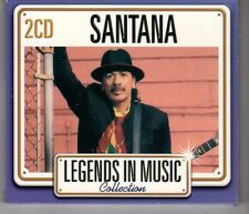 (HH858) Santana, Legends In Music Collection - 2007 double CD