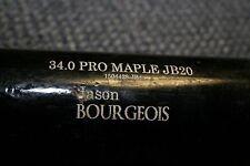 JASON BOURGEOIS GAME USED OLD HICKORY PRO WOOD BAT CHICAGO WHITE SOX NO CRACKS Q