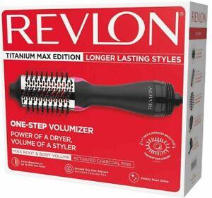 REVLON RVDR5282CT One Step Hair Dryer Volumizer Titanium Max Edition Storage Bag