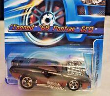Case Q 2012 Hot Wheels /'70 PONTIAC GTO Conv 1970 #159 Scan ☆Black w//flames☆