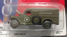 Johnny Lightning Brigade WW II WC-54 Military Police Truck Van US Army 1/64