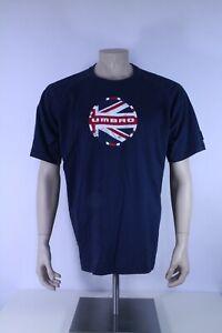 Umbro Bob Brit Logo Tee Men Großbritannien Freizeit T-Shirt Männer Baumwolle XL