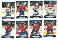 Montreal Canadiens 2019-20 Upper Deck MVP BLUE PARALLEL Team Set RC FACTORY SET