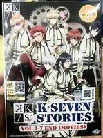 K: Seven Stories (Chapter 1 - 7 End) ~ All Region ~ Brand New & Factory Seal ~
