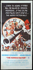 THE HUMAN FACTOR Original Daybill Movie poster Goerge Kennedy John Mills
