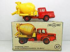 1334 ANGUPLAS MINI-CARS CAMION UNIC HORMIGONERA HI-BOY HI BOY TRUCK LORRY 1/87