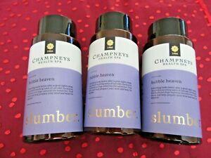 Champneys bubble heaven bundle-slumber-3 x 300ml=900ml-I combine postage
