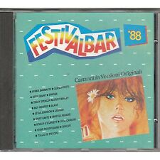 Festivalbar '88 SPAGNA TRACY SPENCER SABRINA SALERNO DENOVO CD 1988 COME NUOVO