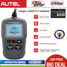 AUTEL OBD 2 Engine Code Reader Erase codes Auto Scanner Vehicle Diagnostic Tool