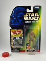 "Star Wars 3 3/4"" POTF Freeze Frame Bespin Luke Skywalker Green Card MOC!"