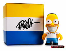 Homer Grin by Ron English - The Simpsons x Kidrobot 3 inch Mini Figure Brand New