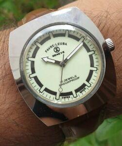 Vintage Favre Leuba Cal 253 Hand Winding 17 Jewels Swiss Made Men's Watch