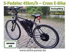 "S-Pedelec eBike 28"" S-Pedelec 45km/h E-Bike 45 E-Bike - Vorführrad Crossbike"