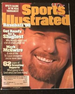 Mark McGwire St Louis Cardinals MLB Preview Sports Illustrated March 23, 1998