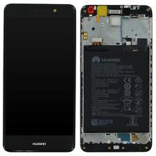 Genuine Huawei Y7 / Y7 Prime LCD Screen Touch Digitiser Frame & Battery - Black