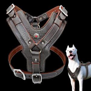 Pet Harness Large Dog Vest Best Leather No Pull Extra Large Breeds Doberman 3XL