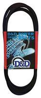 D&D PowerDrive A159 V Belt  1/2 x 161in  Vbelt