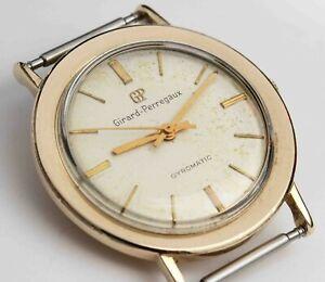 c.1960 vintage GIRARD-PERREGAUX GYROMATIC men's automatic wristwatch - EXCELLENT
