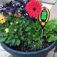 4 in 1LCD PH Tester Soil Water Moisture Light Test Meter for Garden Plant Flower
