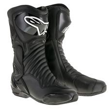 Alpinestars SMX 6 Black Motorcycle Racing & S-MX 6 Sport Boots -  SMX 6 V2 Black