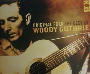 "Woody Guthrie ""The Best Of"" Original Folk  2CD"