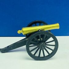 Penncraft civil war canon cannon brass Gettysburg miniature toy soldier Penn USA