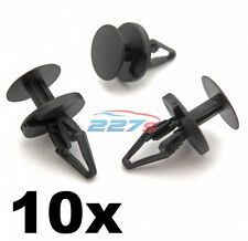 10x Ford Plastic Trim Clips, Bumper, Splitter and Wheel Arch Lining Clips