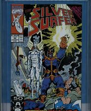 Silver Surfer v3 55 CGC 9.6 Thanos Appearance,Infinity Gauntlet