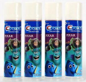 (Pack of 4) Crest Pixar Strawberry Fluoride Anticavity Toothpaste 4.2 Oz BB 6/22